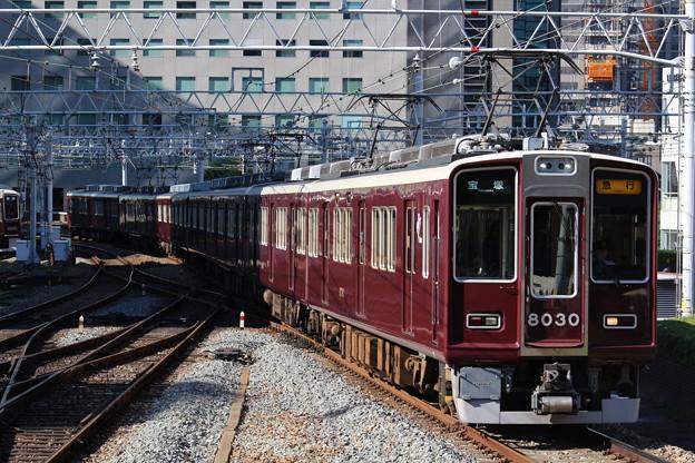 阪急8000系C#8030×8