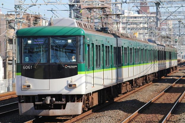 京阪6000系6011F