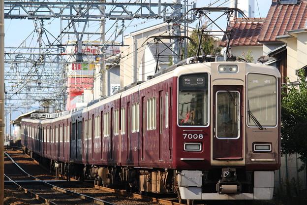 阪急7000系C#7008×8R