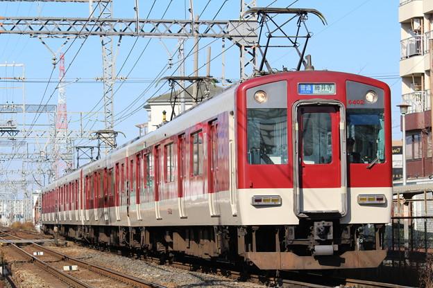 近鉄6400系Mi02+6407系Mi09