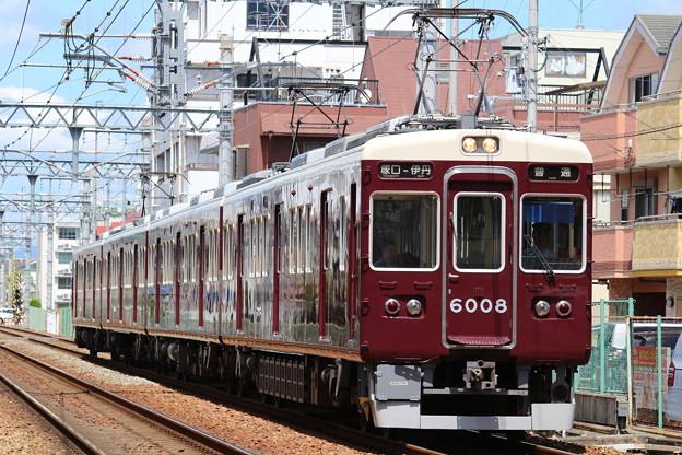 阪急6000系C#6008×4R
