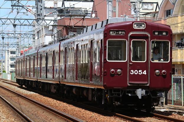 阪急3000系C#3054×4R