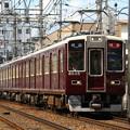 Photos: 阪急8000系C#8035×2R+7000系C#7023×6R