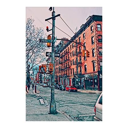 ニューヨーク スプリング通り