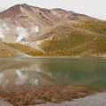 写真: 旭岳と姿見の池3IMG_1503b
