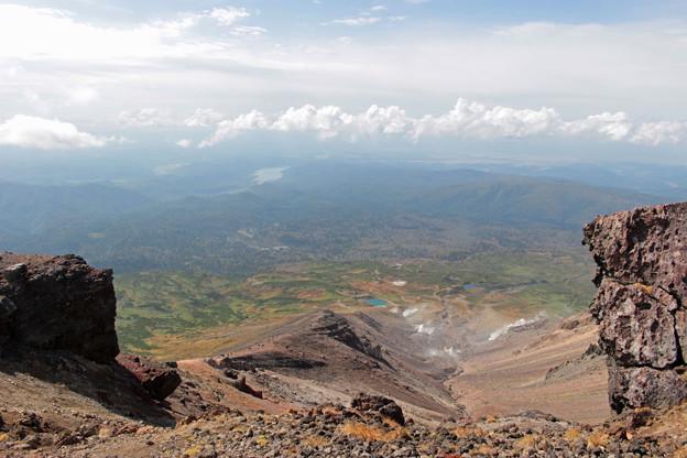 旭岳登山開始4もうすぐ頂上IMG_1302a