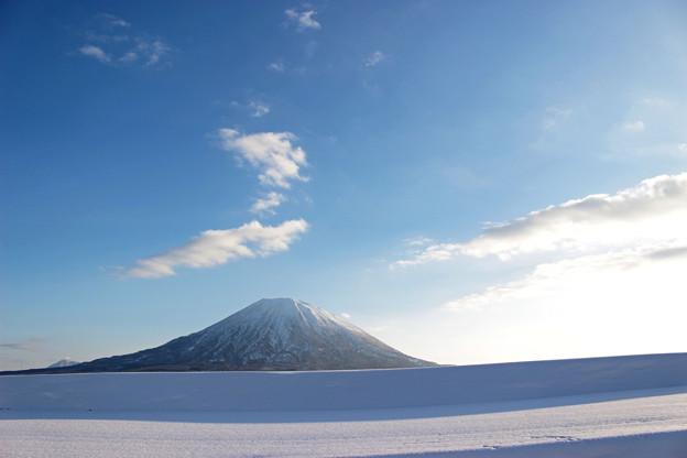 雪のライン