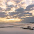 Photos: 冬の湖(朝)