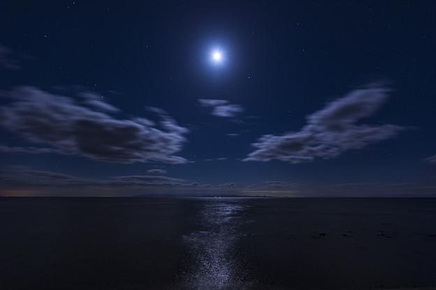 月の輝く夜だから..