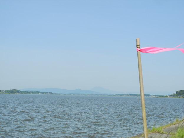 2018.05.16 きょうの風景(霞ヶ浦と青空)