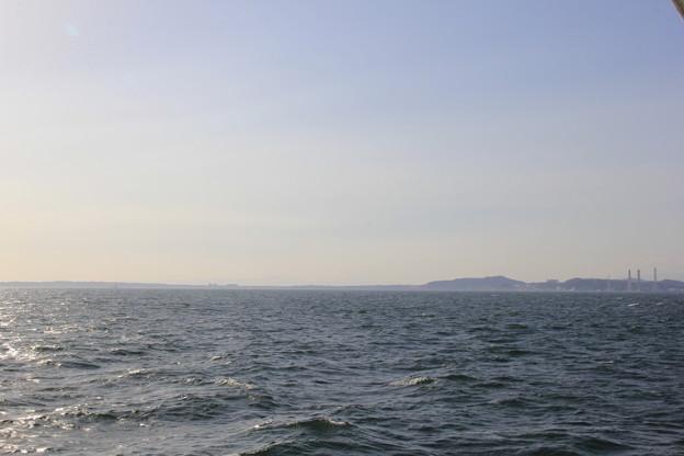 フェリーで久里浜へ