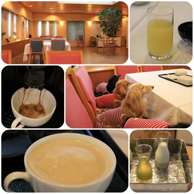 グレープフルーツジュース&コーヒー