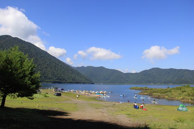 夏休み初日は本栖湖へ