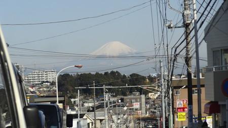 ミラー越しの富士