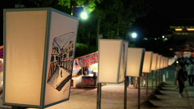 TON05742鎌倉ぼんぼり祭り