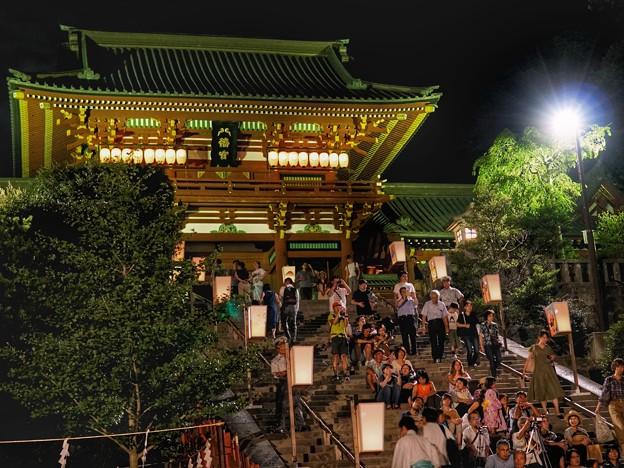 TON05748鎌倉ぼんぼり祭り