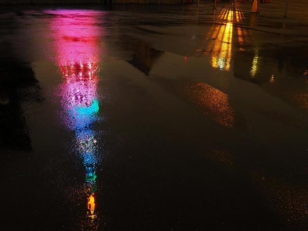 雨の日だけの東京タワー