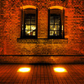 赤煉瓦の静かな夜