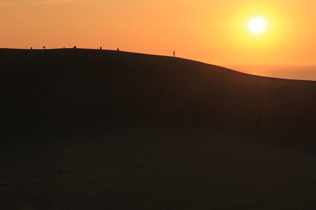 2450 日本海に沈む夕陽@鳥取