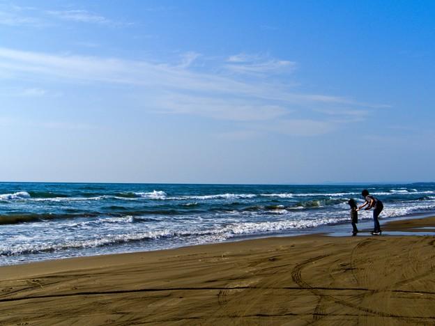 Photos: 波だぁ