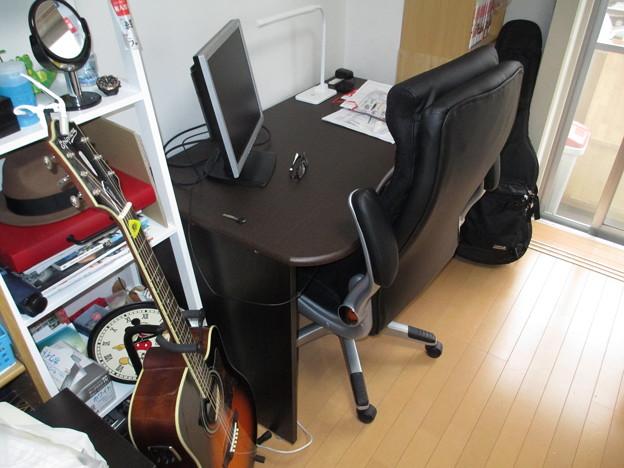 20140419 次男の机と椅子
