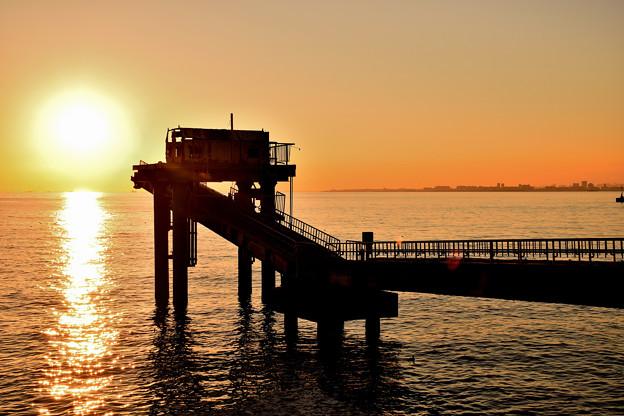 夕時の幕張の浜(3)