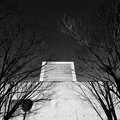 写真: 冬の博物館