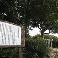 写真: 九鬼嘉隆墓(首塚)