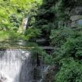 布引の滝(雌滝、取水堰堤、取水施設)