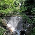 布引の滝(雌滝、取水堰堤)