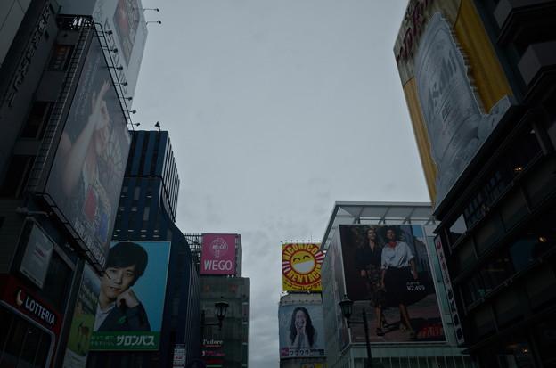 写真: 道頓堀の看板