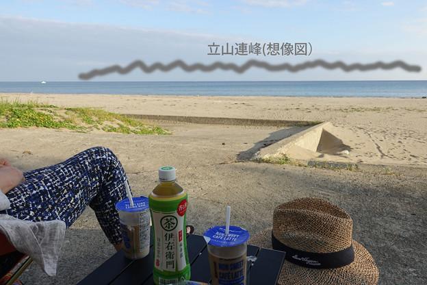 鉢ヶ崎海岸&立山連峰