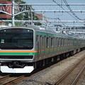 Photos: 東海道線E231系1000番台 U517編成他15両編成