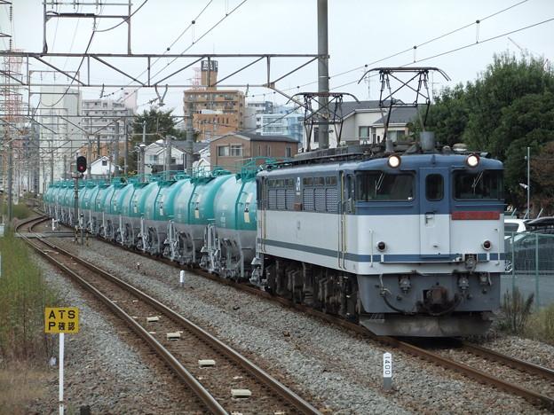 EF65 2070+タキ【米タン】