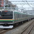 東海道線E231系1000番台 U536編成他15両編成