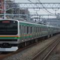 東海道線E231系1000番台 K-31編成他15両編成