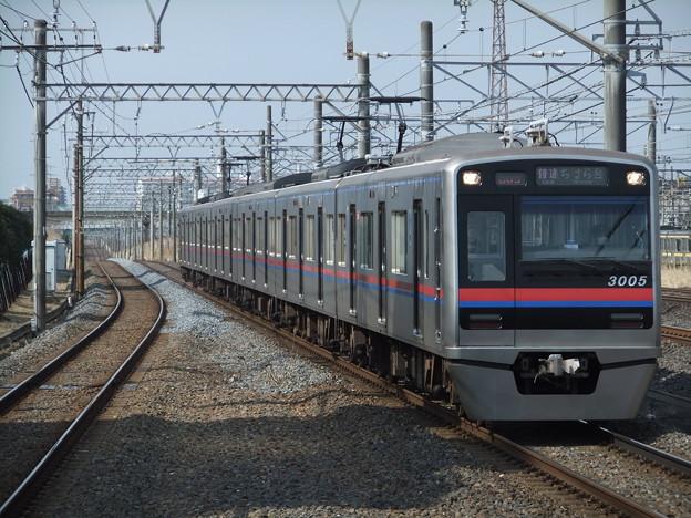 京成千葉・千原線3000形 3005F