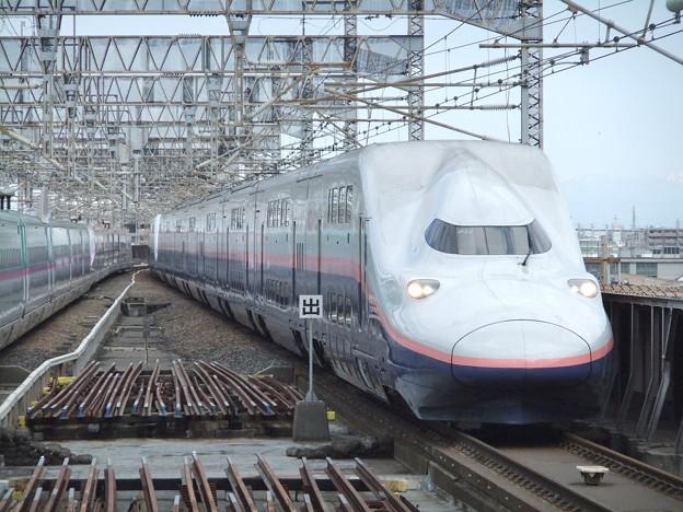 上越新幹線E4系 P18編成他16両編成
