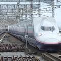 Photos: 上越新幹線E4系 P18編成他16両編成