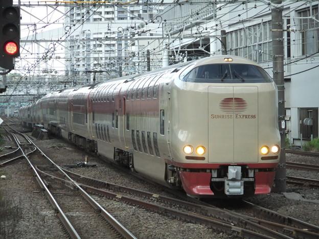 Photos: サンライズ瀬戸・出雲285系0番台 I2編成他14両編成