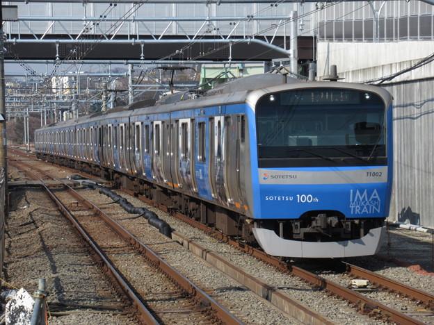 相鉄線11000系 11002F【相鉄100周年今むかしトレイン】