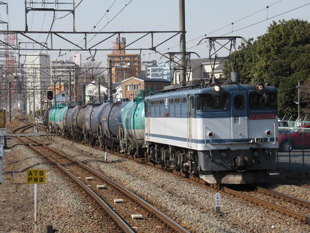 EF65 2084+タキ