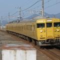 写真: 山陽線115系3000番台 N-02編成