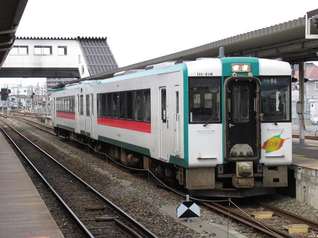 石巻線キハ110系200番台 キハ111-216+キハ112-216