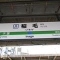 Photos: #JO27 稲毛駅 駅名標【総武快速線 下り】