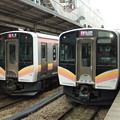 Photos: E129系A12編成・B1編成 2並び