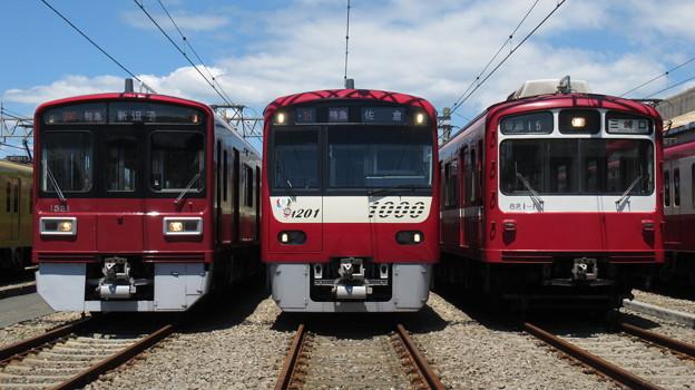 京急1521F・1201F・821F 3並び