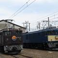 EF64 37・EF64 1023 2並び