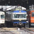 Photos: 一畑電車2111F・5110F・1101F 3並び