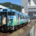 境線キハ40系 キハ40 2115【鬼太郎列車】